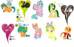 Ponys that I have adopted so far
