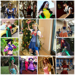 A year of cosplaying 2013