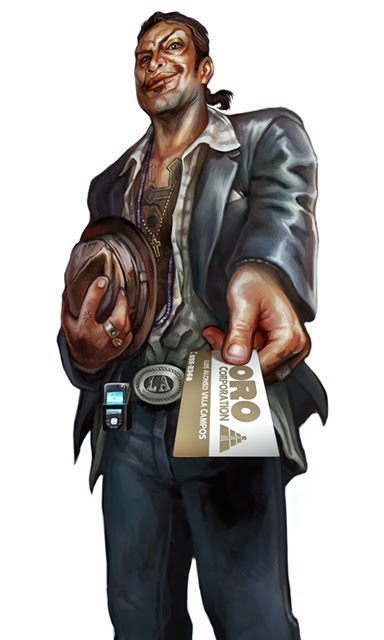 Shadowrun Drug Lord by Corbella