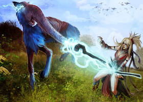 Disenchanter Fight by Corbella