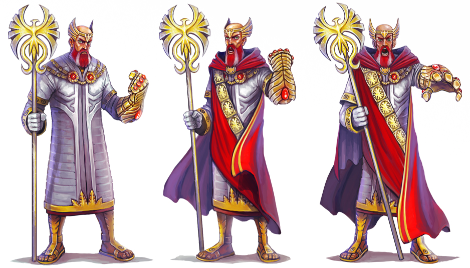 Tiberius - Fantasy Rivals by Corbella