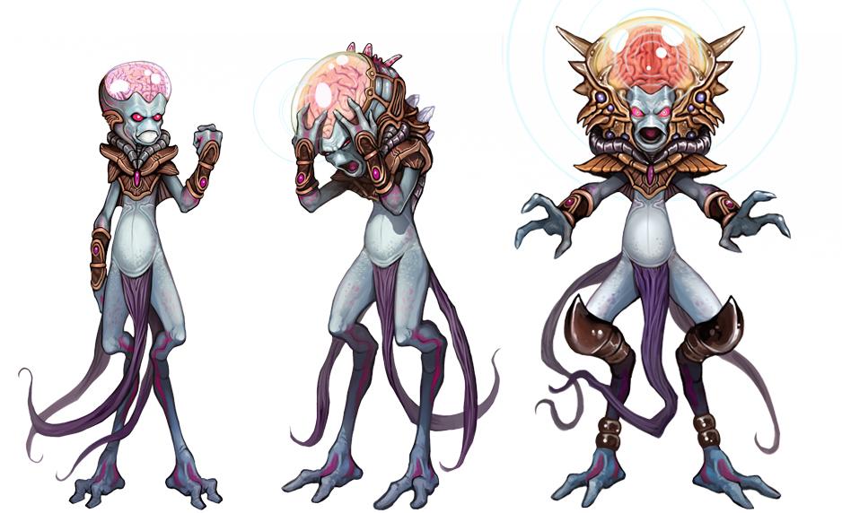 Xuul Ran - Fantasy Rivals by Corbella