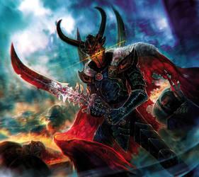 Warhammer 40K Conquest - ArchonsTerror by Corbella