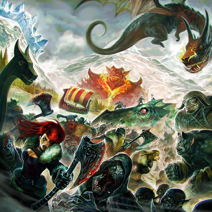 Champions of Midgard by Corbella