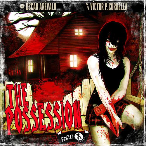 The Possession - Board Game Cover by Corbella