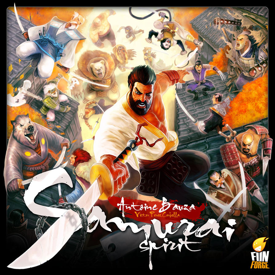 Samurai Spirit - cover by Corbella
