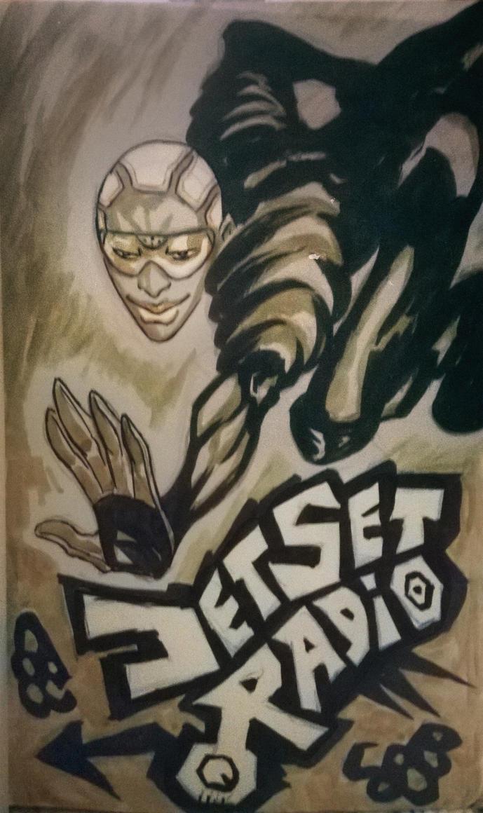 JETSET RADIO1 by Corbella