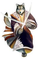 Katsuhiro - Wolf by Corbella