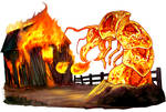 FIRE ANKHEG