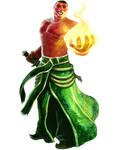 Azhar sorcerer by Corbella