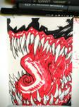 Inktober day7: Venom