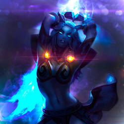 Draenei character for Pyrista