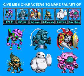 6fanart (Pixelart)