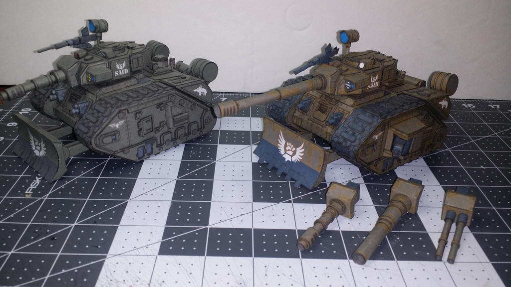 Leman Russ version 2 Corner angle by lubovgeorge