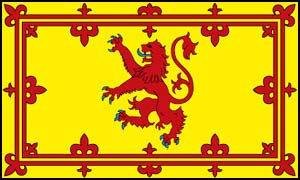Scots Flag Yellow by SnapperRod