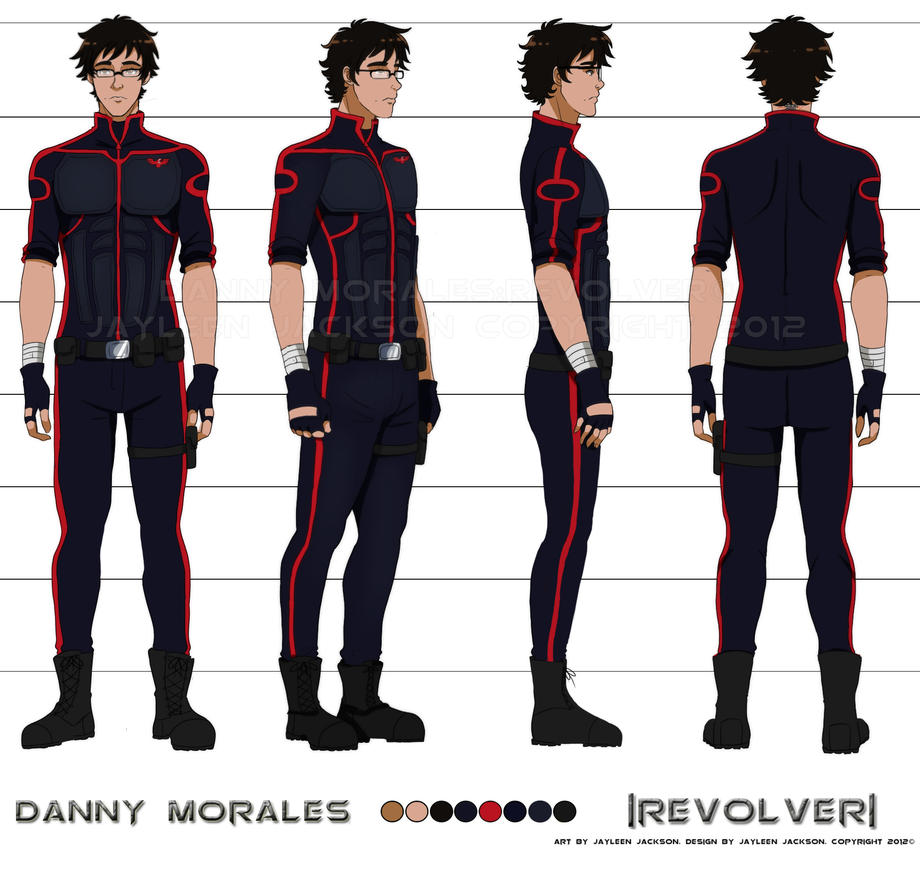 Fantasy Character Design Sheet : Danny s final turnaround by jay jacks on deviantart