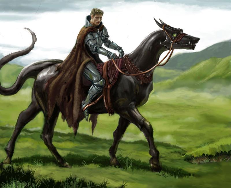 The Wayward Knight by AndrewRyanArt