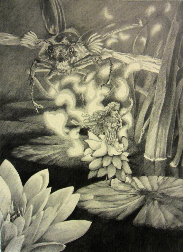 Thumbelina by AndrewRyanArt