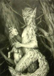 Werewolf Rock by AndrewRyanArt