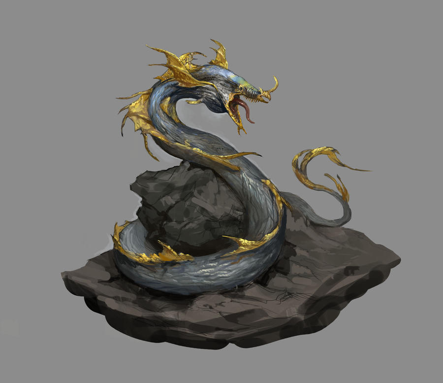Monster Hunter Concept by AndrewRyanArt