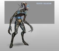 Reaper Salarian by AndrewRyanArt