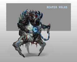 Reaper Volus by AndrewRyanArt