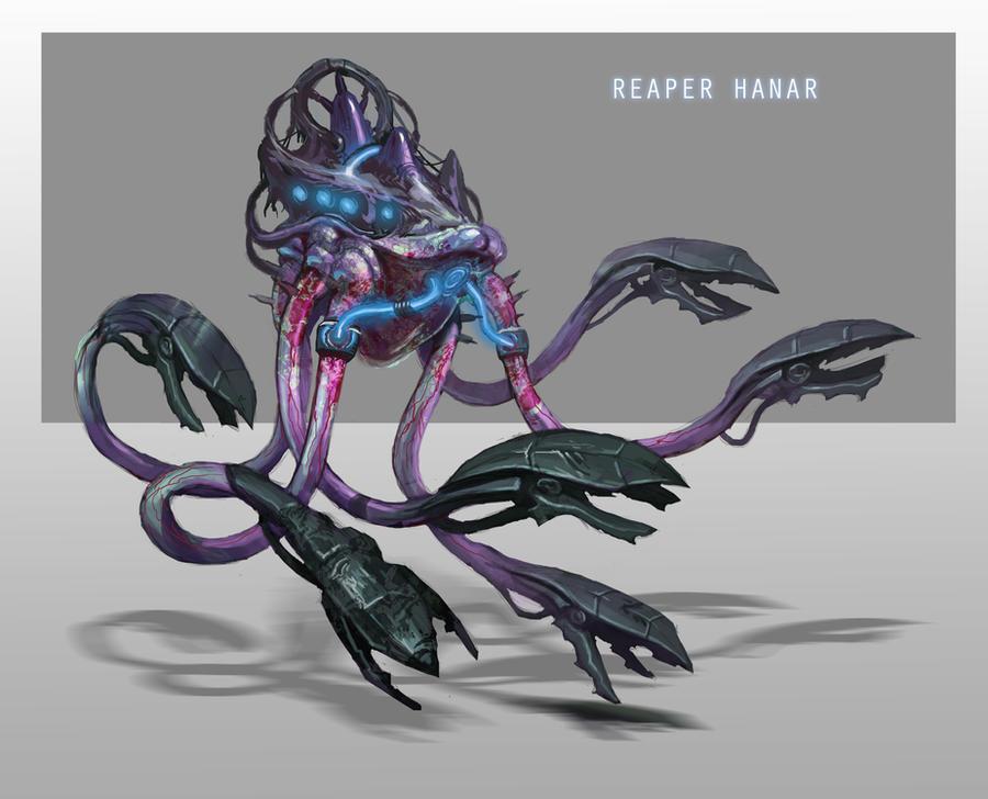 Reaper Hanar by AndrewRyanArt