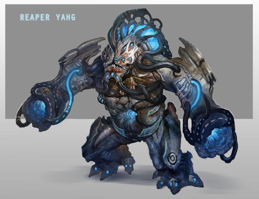 Reaper Yahg by AndrewRyanArt
