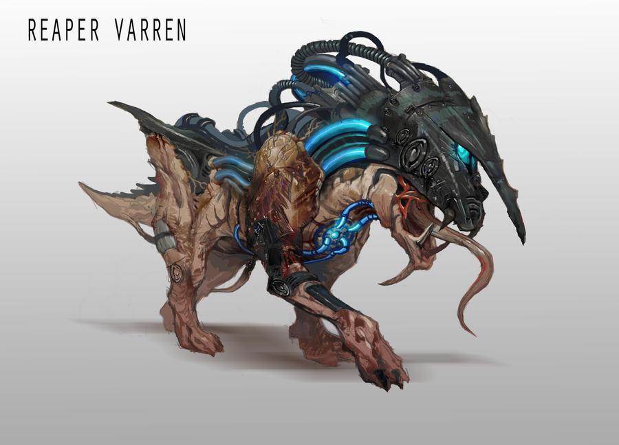Reaper Varren by AndrewRyanArt
