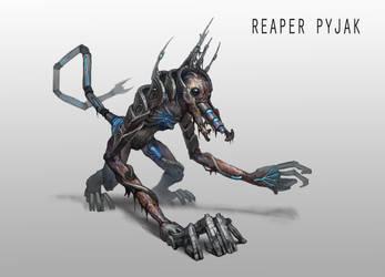 Reaper Pyjak by AndrewRyanArt