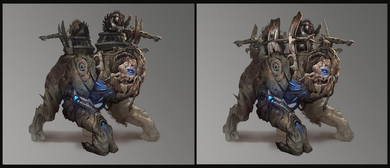 Reaper Elcor/Volus Unit by AndrewRyanArt on DeviantArt