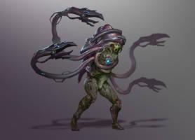 Reaper Drell/Hanar hyrbrid