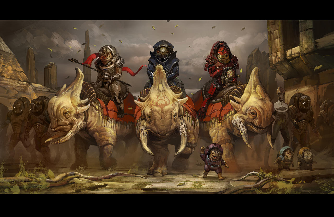 A Future for the Krogan by AndrewRyanArt
