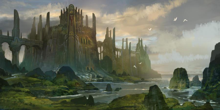 Castle Caladan by AndrewRyanArt on DeviantArt