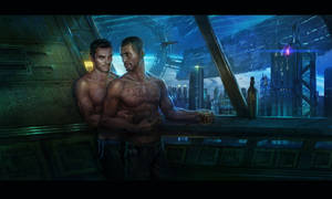 Kaidan and Shepard commission