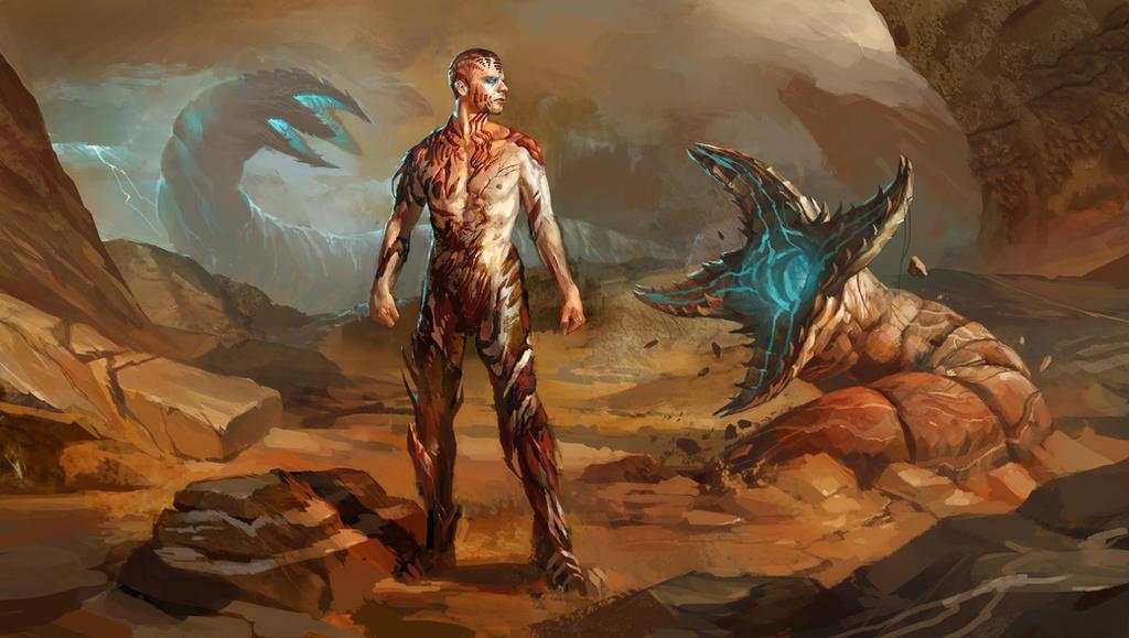 Calendar Art Sci : Dune leto ii transformation by andrewryanart on deviantart