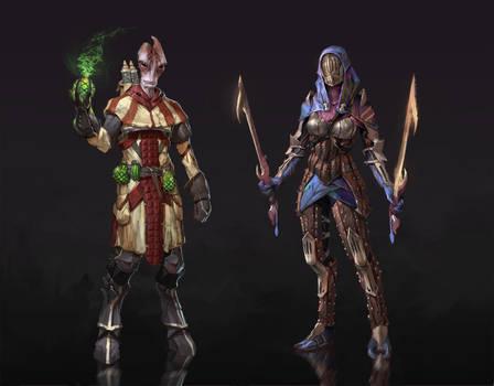 Dragon Effect: Mordin and Tali