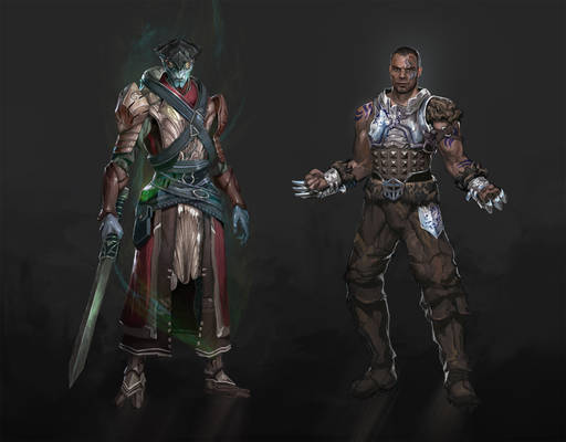 Dragon Effect: Javik and James