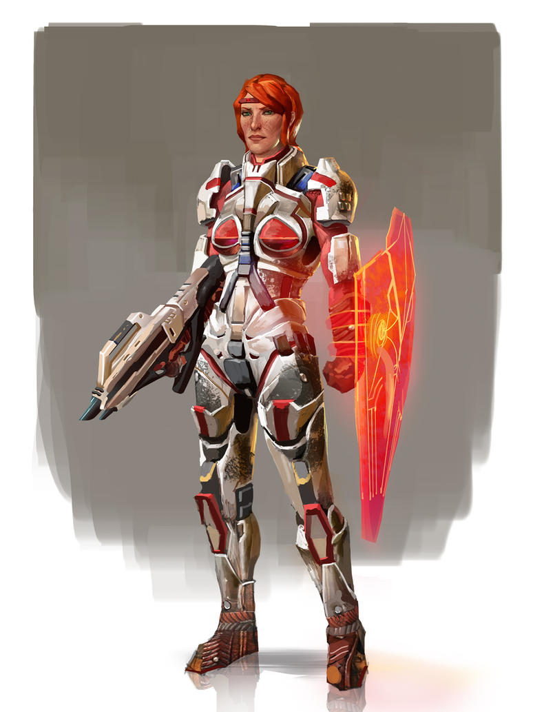 Aveline- Mass Age by AndrewRyanArt