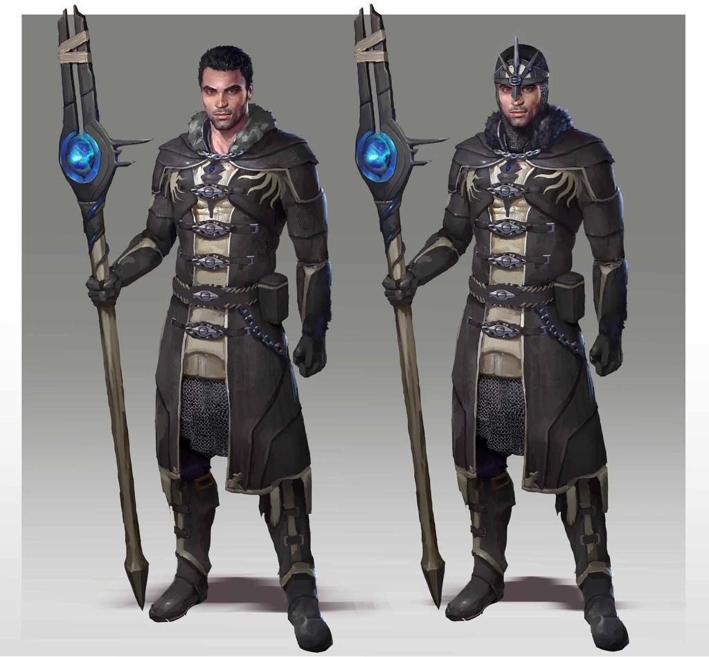 Inquisitor Alenko by AndrewRyanArt
