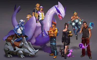 Final Fantasy X + Pokemon