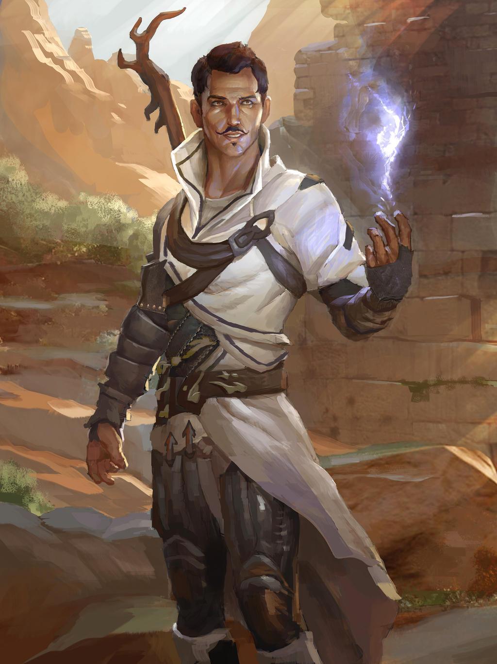 Dorian Pavus by AndrewRyanArt
