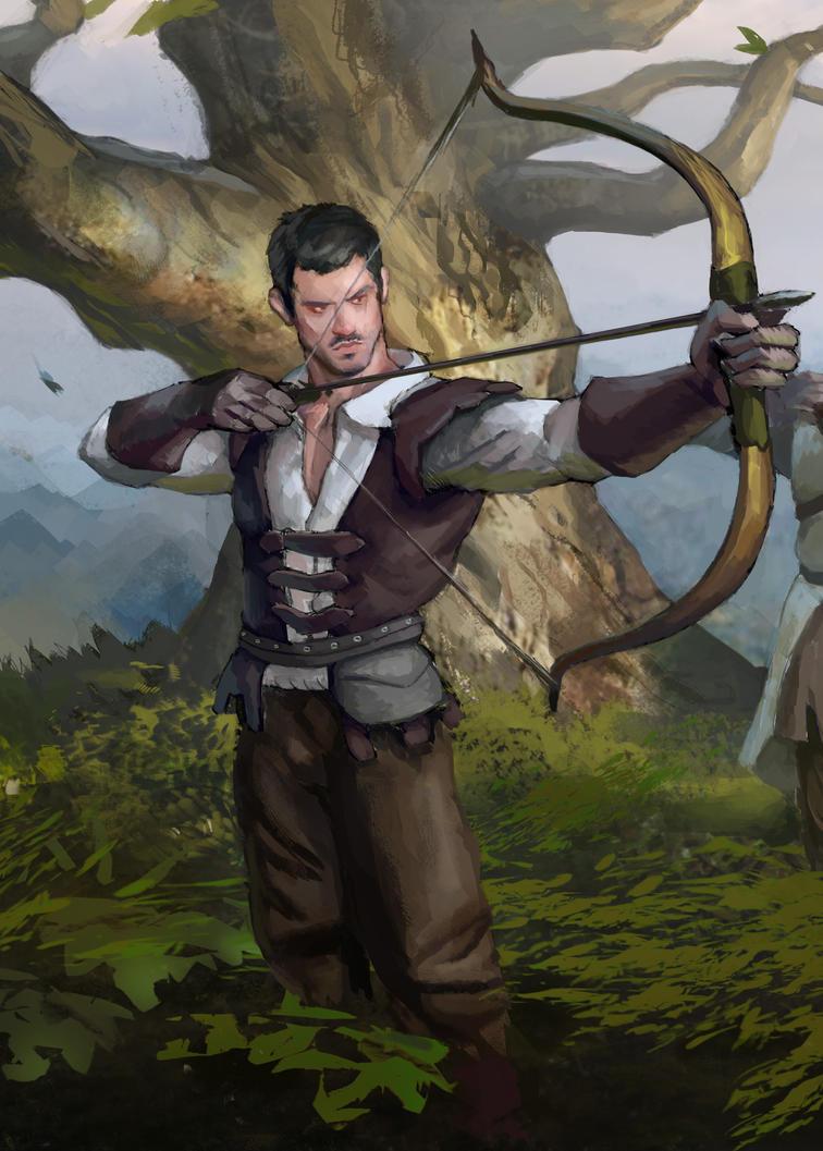 Archer by AndrewRyanArt
