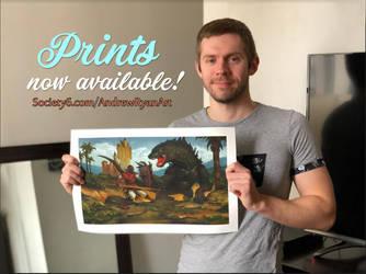 Prints Update by AndrewRyanArt