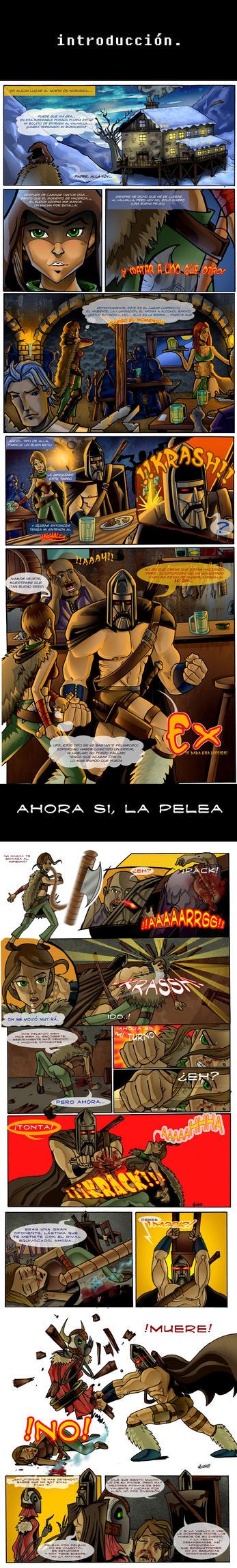 PELEA VALHALLA EX vs Kiria by calamartto