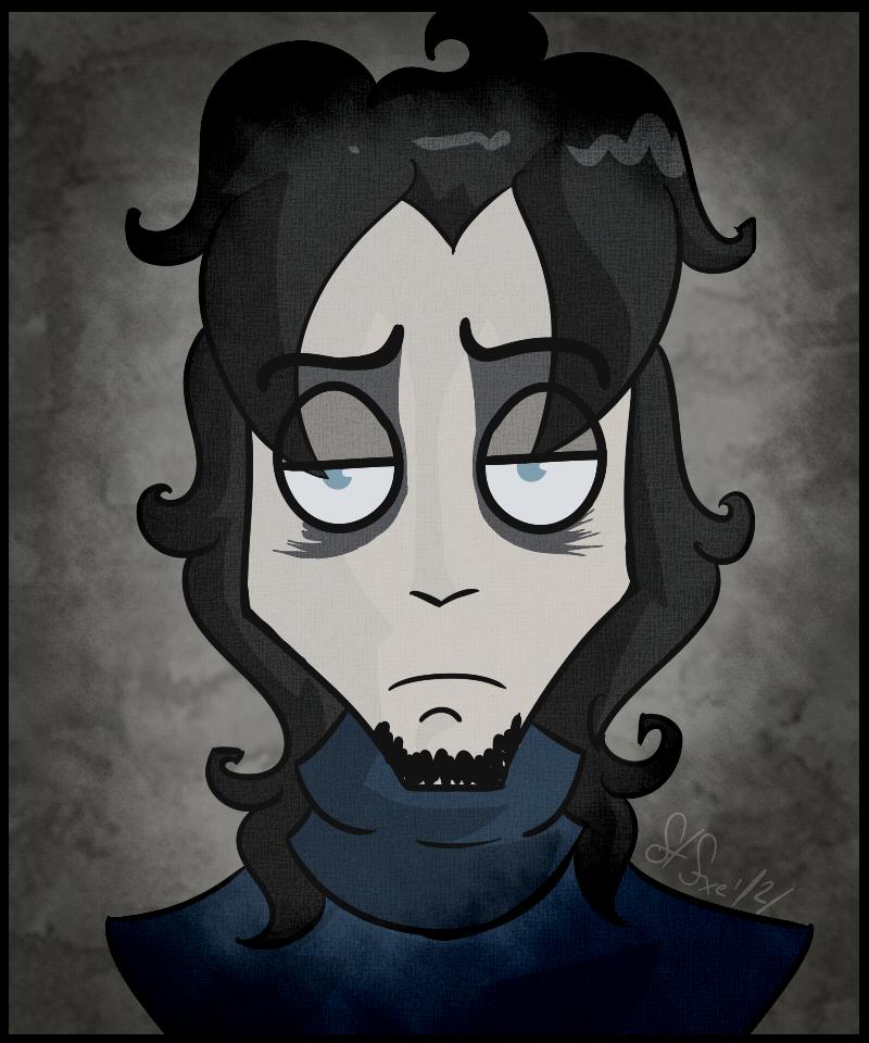 Bloody Holder I [Tim Burton Style] by FTFxe