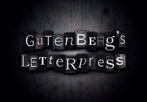 gutenbergs letterpress