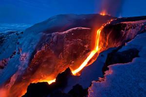 Icelandic volcano by schwartzschildradius