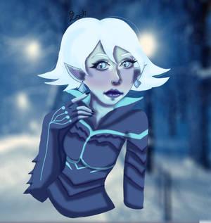 Sombra Christmas Skin.Overwatch By Caffeinatedskeleton On Deviantart