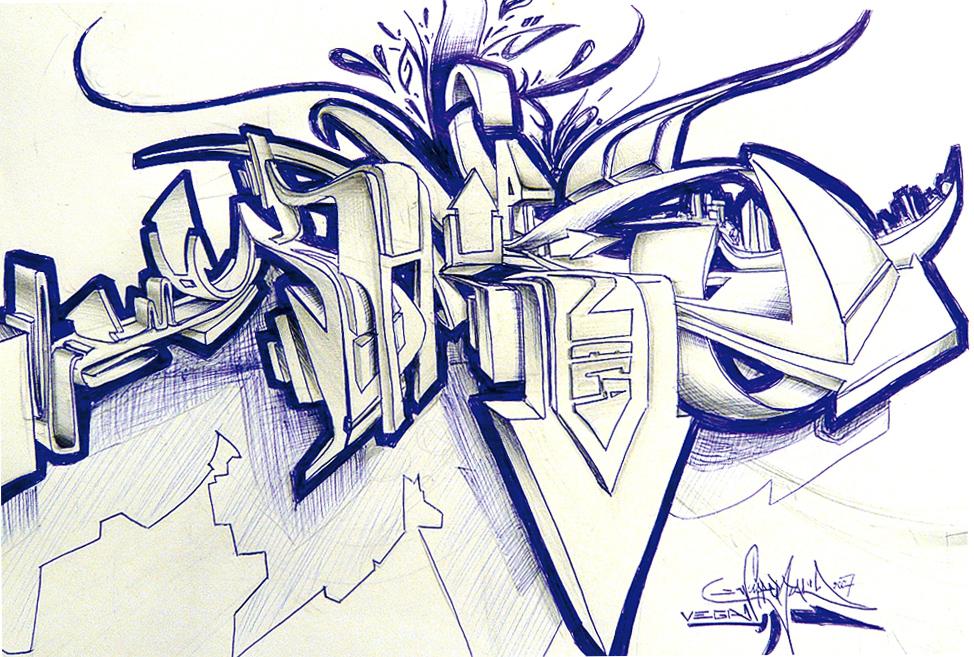 3d Sketch By Vega0ne On Deviantart